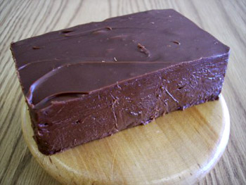 dark-chocolate fudge