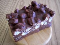 rocky-road fudge